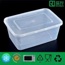 Contenitore di alimento di plastica per immagazzinaggio 1000Ml dell'alimento