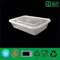 Contenitore di alimento a gettare di plastica di immagazzinaggio dell'alimento 500Ml