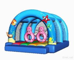 Videur gonflable de Disney Minnie/château plein d'entrain/Chambre/pullover de rebond à vendre unique
