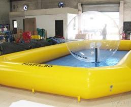 faire sauter la piscine gonflable/piscine gonflable de piscine d'eau pour des sports et des jouets de l'eau