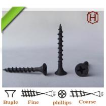 Phosphate Black Gips Screws