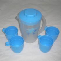 De plastic Reeks van de Waterkruik