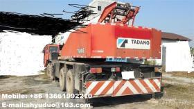50TonはTadanoクレーンによってTG500E使用されたTadanoのトラッククレーンを使用した