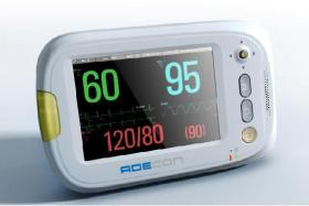 Adk-7300 3.5 Inch Patient Monitor,Suitable For Homecare