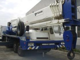 使用されたTADANO 50Tのトラッククレーン