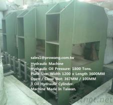 Machine hydraulique 1800/800/600 tonnes