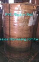 Feuilles rigides de PVC dans l'enroulement - couleur blanche