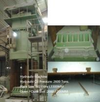 Hydraulic Machine 2600 / 200 Tons