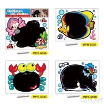 De reeks van de Sticker van de Muur van het bord