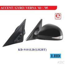 KD-9101LD 옆 거울
