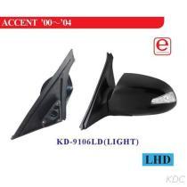 KD-9106LD (가벼운) 옆 거울