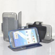 Het Geval van het Leer van TPU Pu voor de Melkweg N7100 van Samsung