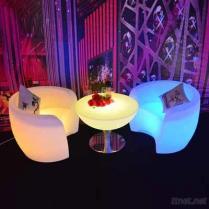 DMX多彩な屋外LEDのラウンジの家具