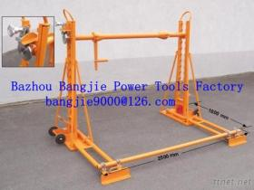 Hydraulic Cable Jacks, Trapezoid Cable Drum Stands, Cable Drum Lifting