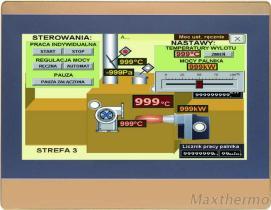 Kompakte menschliche Schnittstelle der Maschinen-MA2100