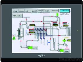 MT080-TST menschliche Maschinen-Schnittstelle