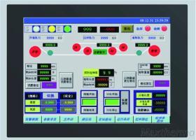 MT121-TST menschliche Maschinen-Schnittstelle