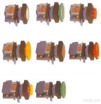 Belichteter Druckknöpfe Schalter