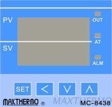 Regulador de temperatura del PID MC-8438