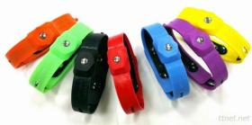 De Elektrostatische Armband van de Band van het Silicone BHO Gezonde