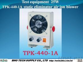Test de IonenVentilator van de Lucht van de Statische Eliminator van het Materiaal 25W tpk-440-1A