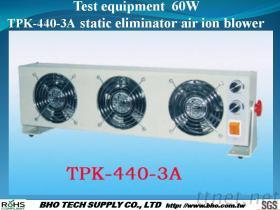 De IonenVentilator van de Lucht van de Statische Eliminator van het Materiaal van de test 60W tpk-440-3A