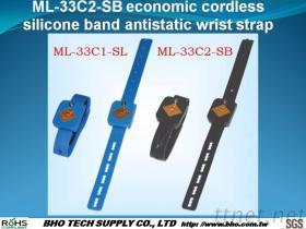 Ml-33c2-Sb de Economische Draadloze Riem van de Pols van de Band van het Silicone Antistatische