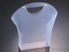 Het handbediende Duidelijke van pvc Vakje van het Dossier van het pp- HUISDIER Plastic
