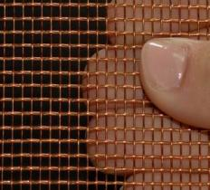 Copper Decorative Wire Mesh