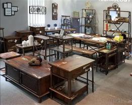 鉄及び木テーブルシリーズ1