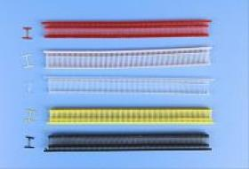 Pin de nylon de la etiqueta