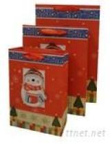 De Zak van het Document van de Gift van Kerstmis van de Decoratie van de luxe