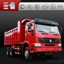 De Vrachtwagen van de Stortplaats HOWO 6X4