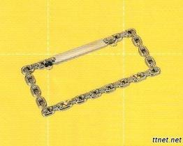 Chain Type License Frame