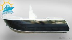 17Ft aluminium die met Runabout van de Voorruit Boten vissen