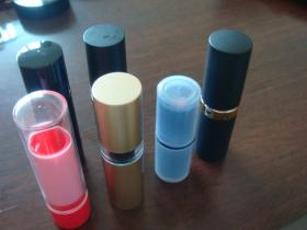 Round Shape Lipstick Casing