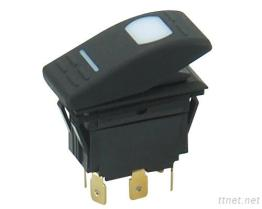 LRS-018 Series - Illuminated Rocker Switches
