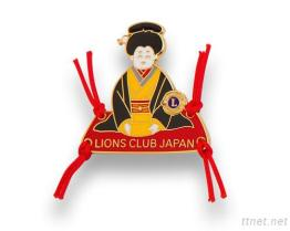 Insignes de club de lion
