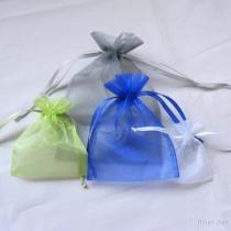 3x4 Periwinkle Organza Promotion Bags
