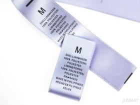 De Etiketten van de Grootte van het kledingstuk
