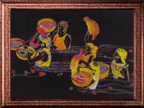 JML-35-P062M - Woven Painting