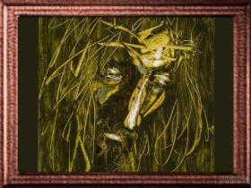 JML-35-P3021 - Woven Painting