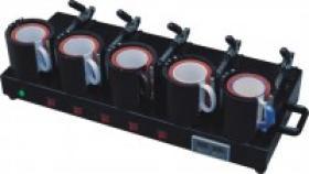 Máquina 5 da transferência térmica da caneca em 1