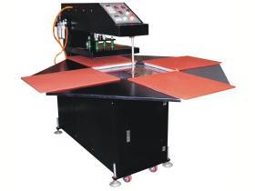 Máquina de impressão automática da transferência térmica de quatro estações