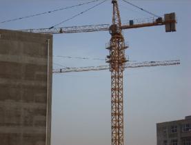 構造のタワークレーン