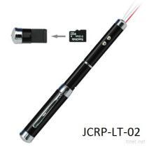 De Aandrijving van de Flits USB met de Wijzer en de Toorts van de Laser