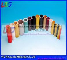Tubo della vetroresina, superficie ad alta resistenza, variopinta, regolare, fornitore multiuso e professionista