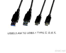 USB 3.0 AM TO USB 3.1Type Cable
