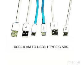 BM del USB 2.0 al cavo del USB 3.1Type