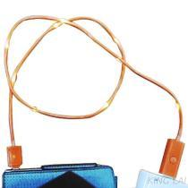 3-9 linea chiara arancione cavo del Io-Telefono del USB